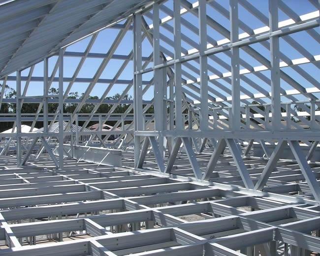 钢结构桁架板